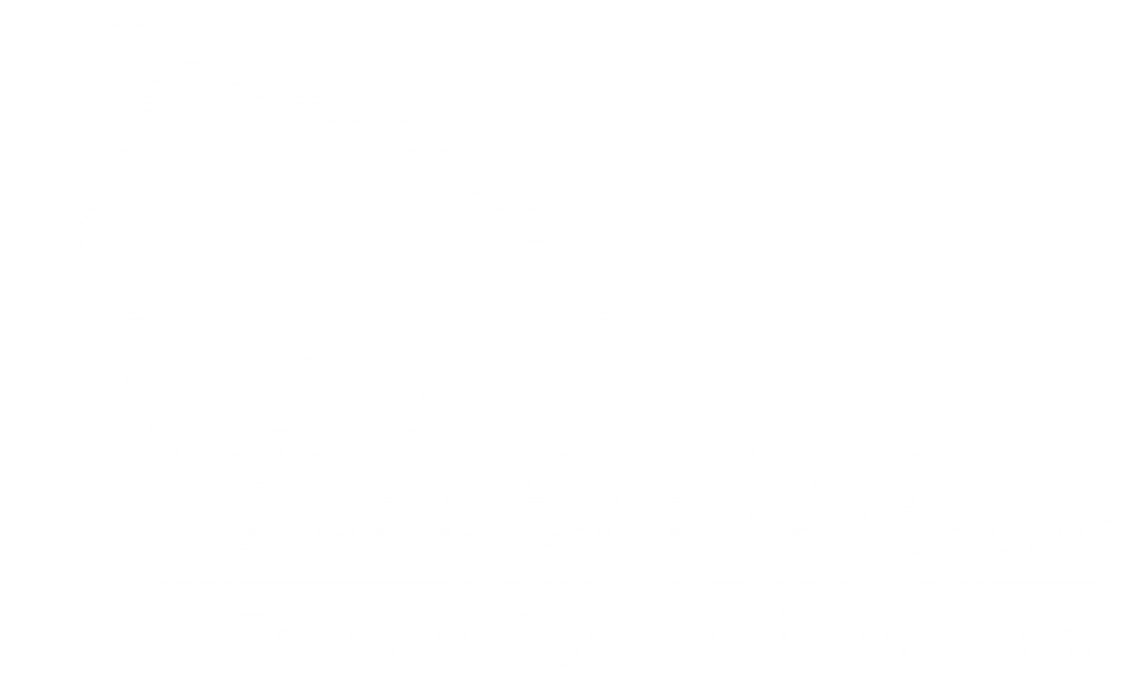 Kheiron | Equine Assisted Learning | logo negatief