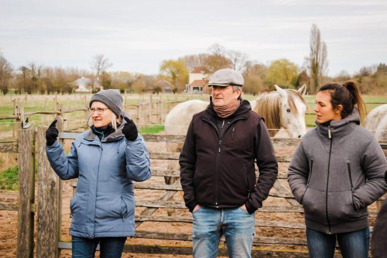 Kheiron | Equine Assisted Learning | Workshop paarden met Klara, Philip en Joséphine