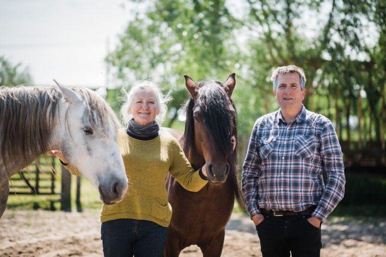 Kheiron | Equine Assisted Learning | Klara en Philip met Peruaanse Paso paard