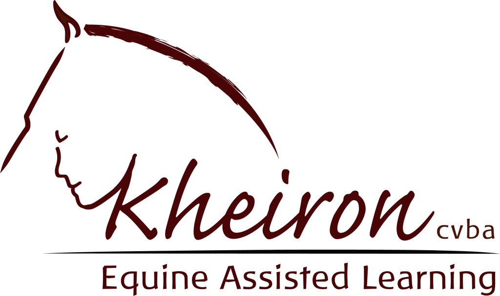 Kheiron | Equine Assisted Learning | logo positief